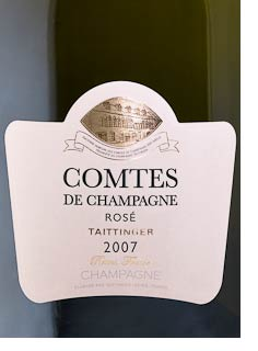 2007 Taittinger Comtes Rose
