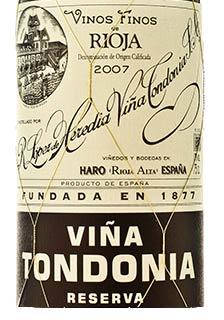 2007 Tondonia Reserva