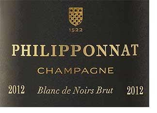 2012 Philipponnat Blanc de Noirs