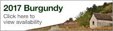 2017 Burgundy en primeur