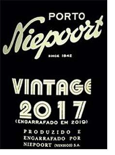 2017 Niepoort vintage port
