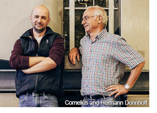 Cornelius and Hermann Donnhoff