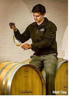 Matt Day, Klein Constantia winemaker