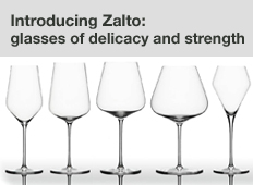 Zalto glass and decanter range
