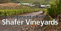 Shafer Vineyards pre-shipment offer