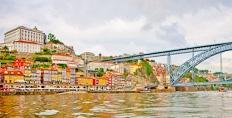 The brige over the Douro in Oporto
