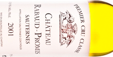 2001 Rabaud-Promis Sauternes