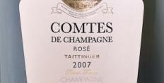 2007 Taittinger Comtes Rose