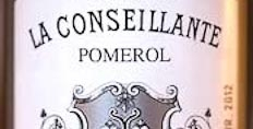 La Conseillante photographed at the UCG tasting.