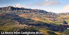 La Morra seen from Castiglione