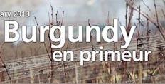 Burgundy en primeur 2011