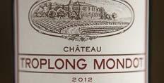 2012 Troplong Mondot; Parker scores