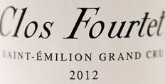 2012 Clos Fourtet, Pichon-Baron, Smith-Haut-Lafitte