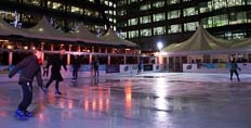 Broadgate Ice Rink in Exchange Square