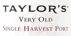 Taylor's Very Old Single Harvest 1964