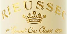 Chateau Rieussec label detail