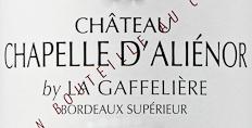 2018 Chapelle d'Alienor Bordeaux Superieur