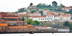 Fonseca's port lodge from across the Duoro